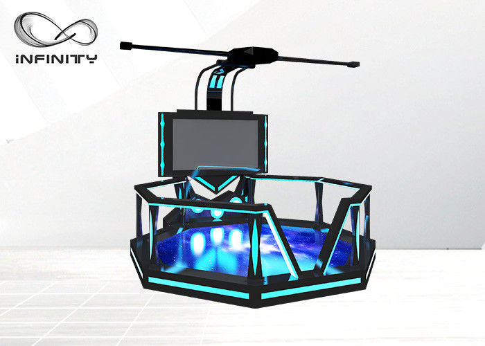 Large Space VR Motion Platform Magic Space Walk Shooting Simulator 9D VR Game Set For Amusement Park
