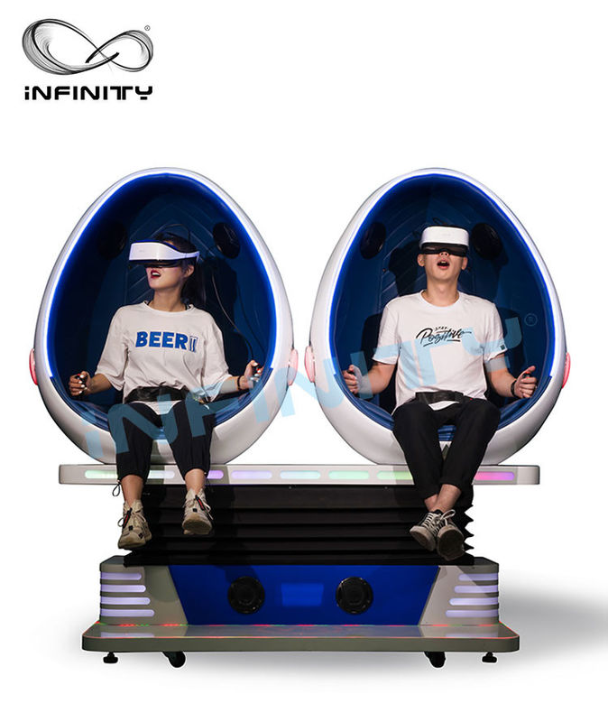 INFINITY Amusement Park 9D VR Cinema / VR Simulator เก้าอี้ Playstation Machine สำหรับผู้ใหญ่